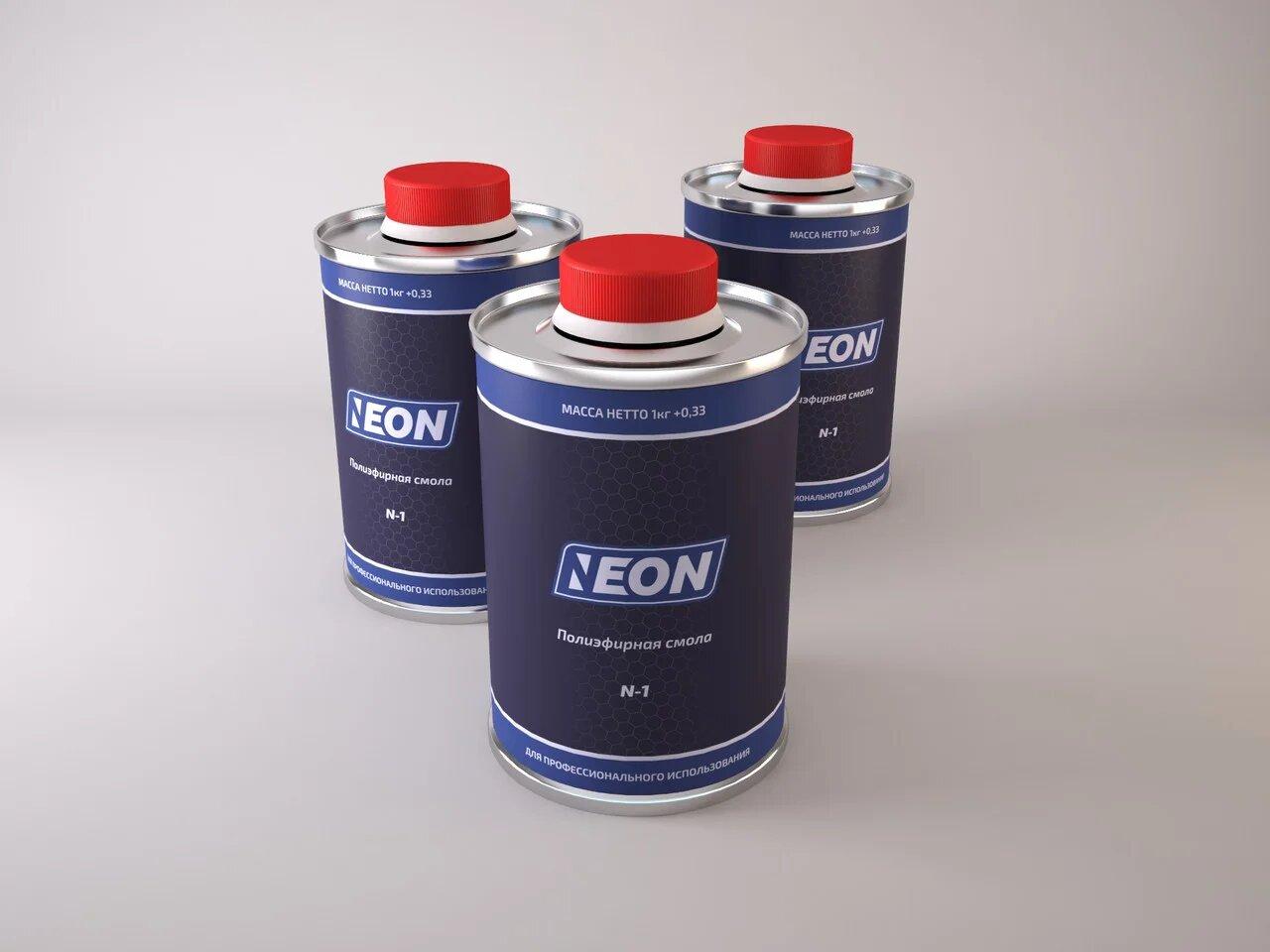 Полиэфирная смола Neon S-1