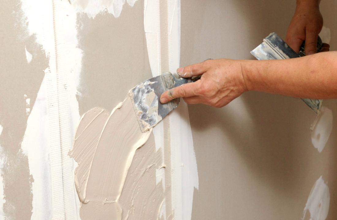 Фото шпаклевки стены