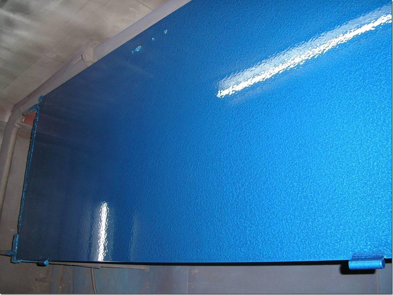 Синяя молотковая краска