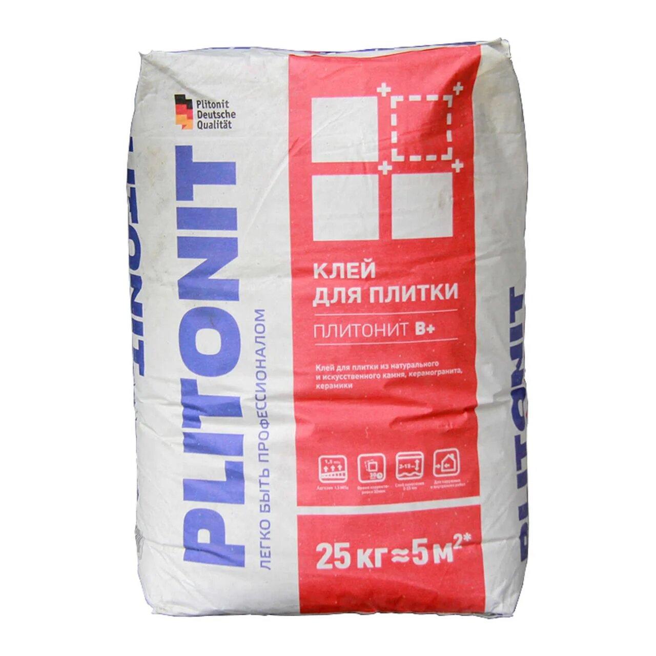Клей Plitonit