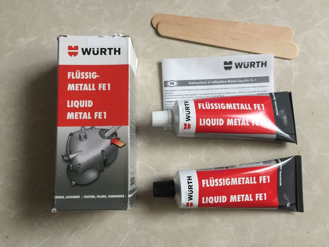 Клей Wurth Liquid Metal