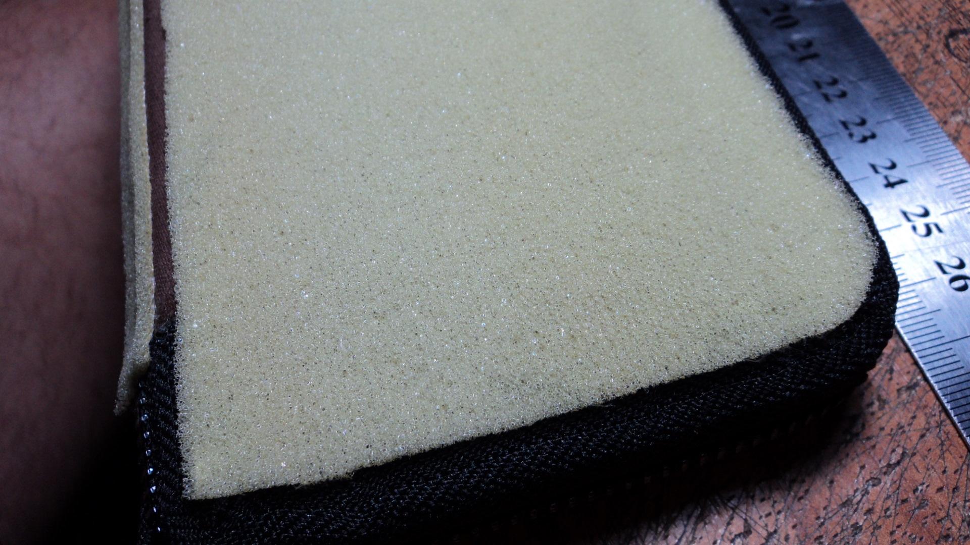 Склеивание поролона с тканью