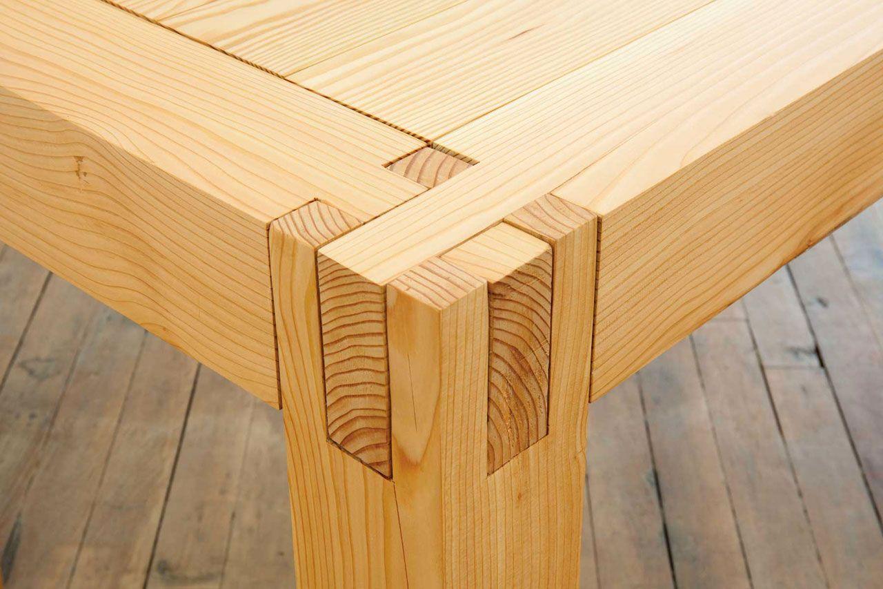 Склейка стола
