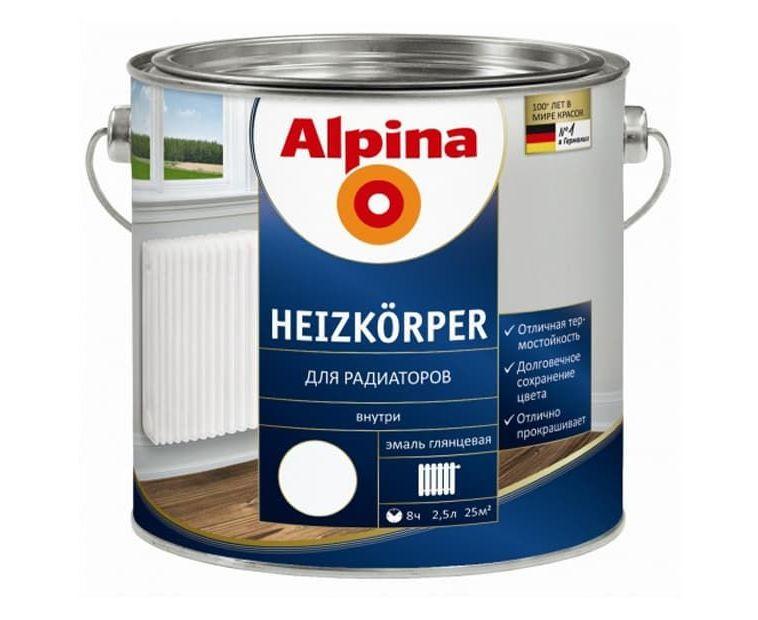 Краска Alpina Heizkoerper