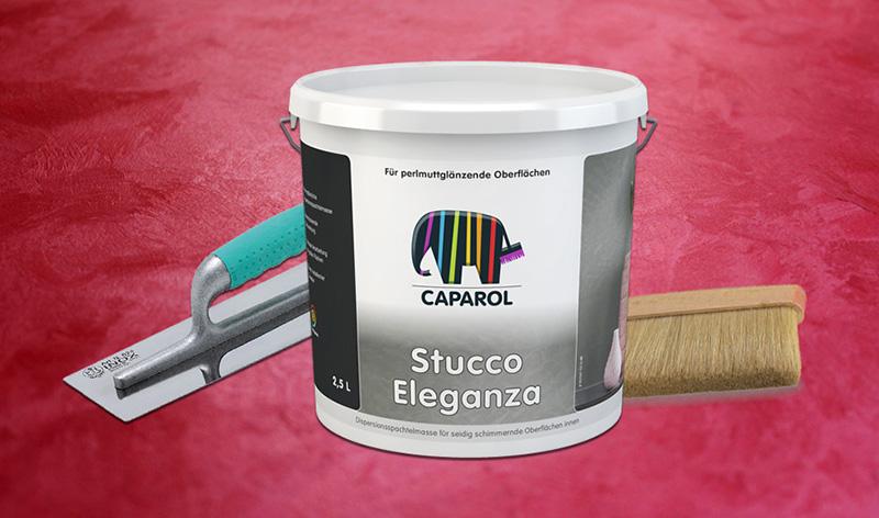 Краска Caparol Capadecor Stucco Eleganza