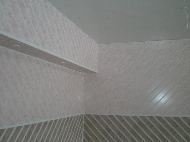Фото ПВХ панелей на стенах