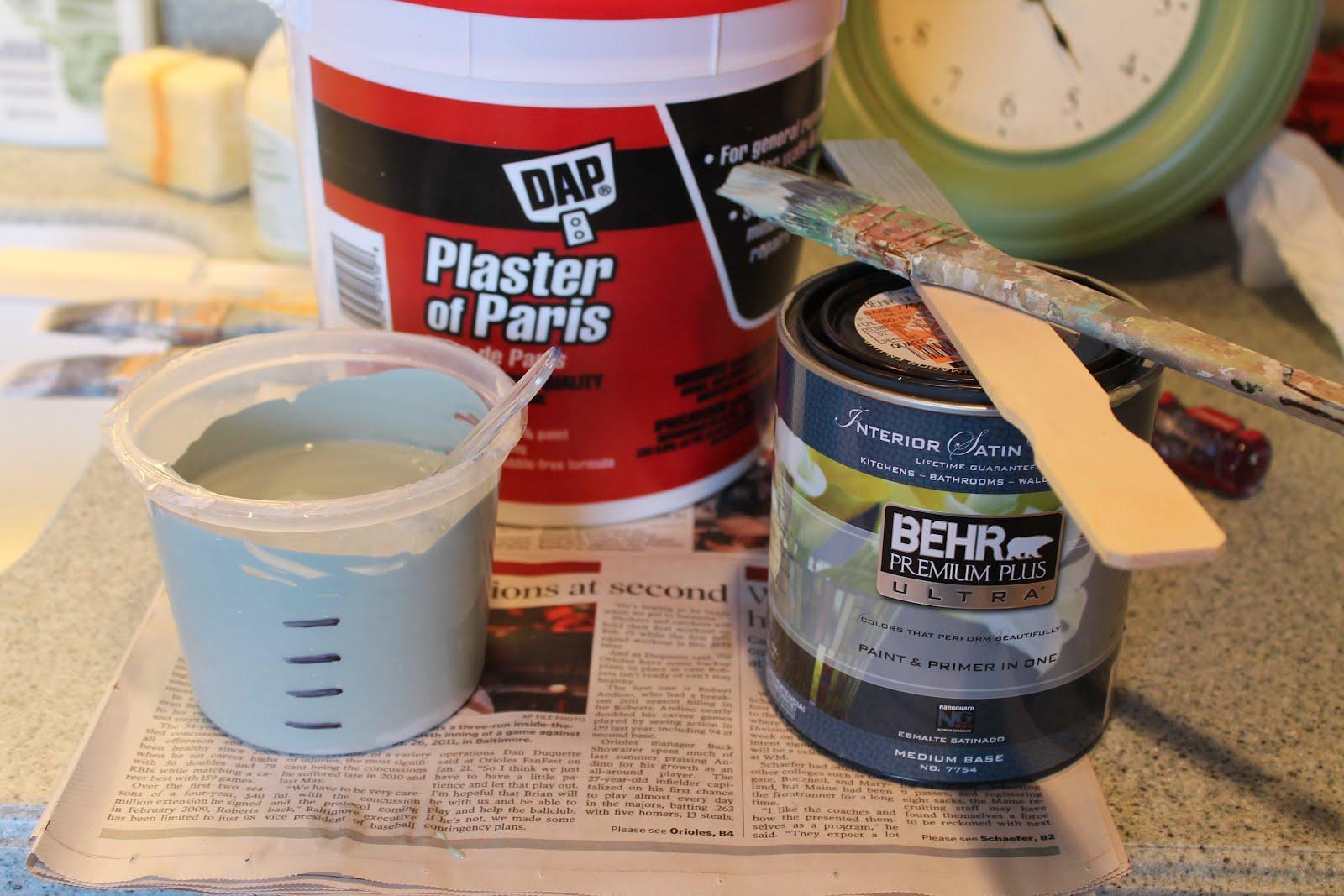 Приготовление меловой краской