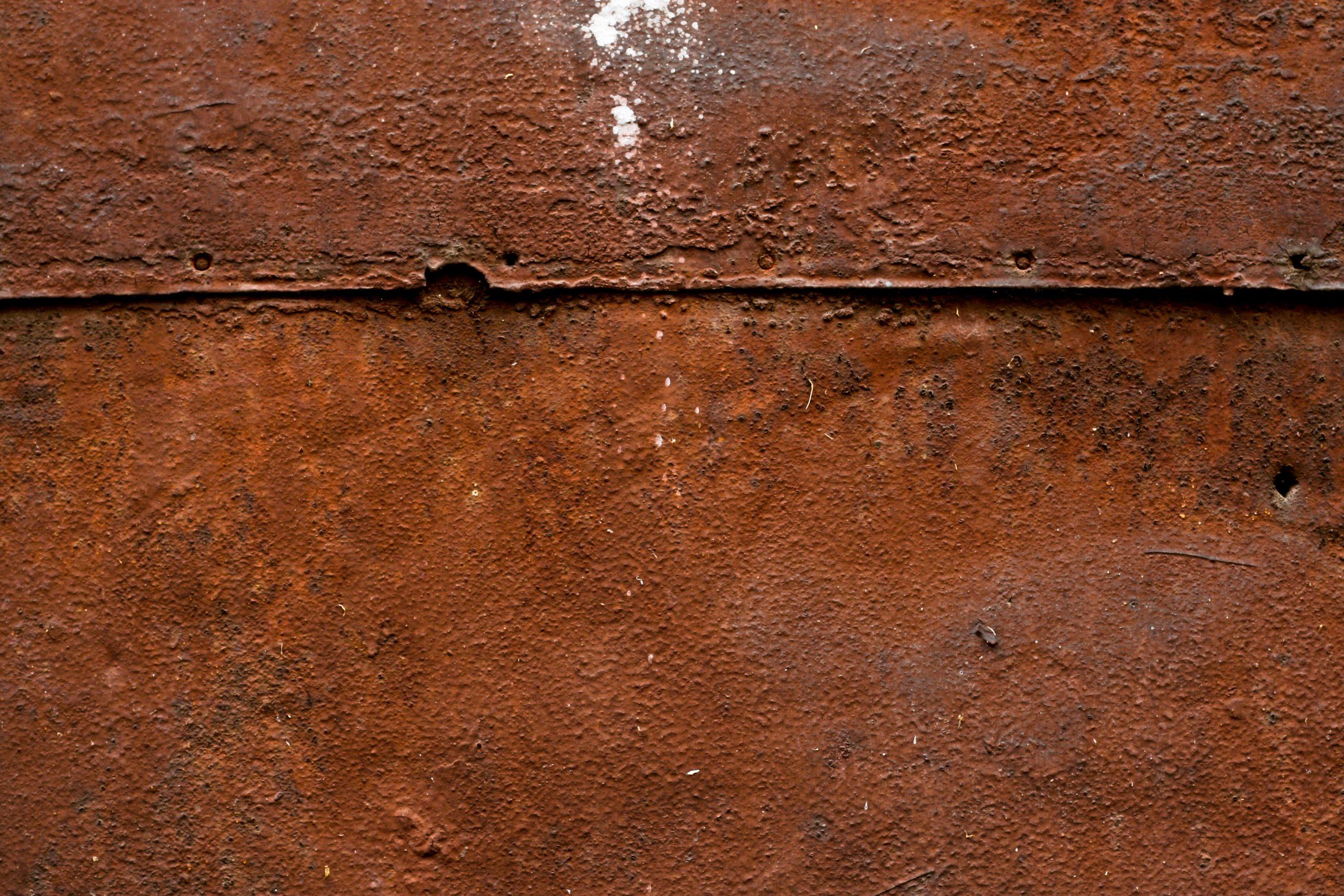 Ржавчина на металле