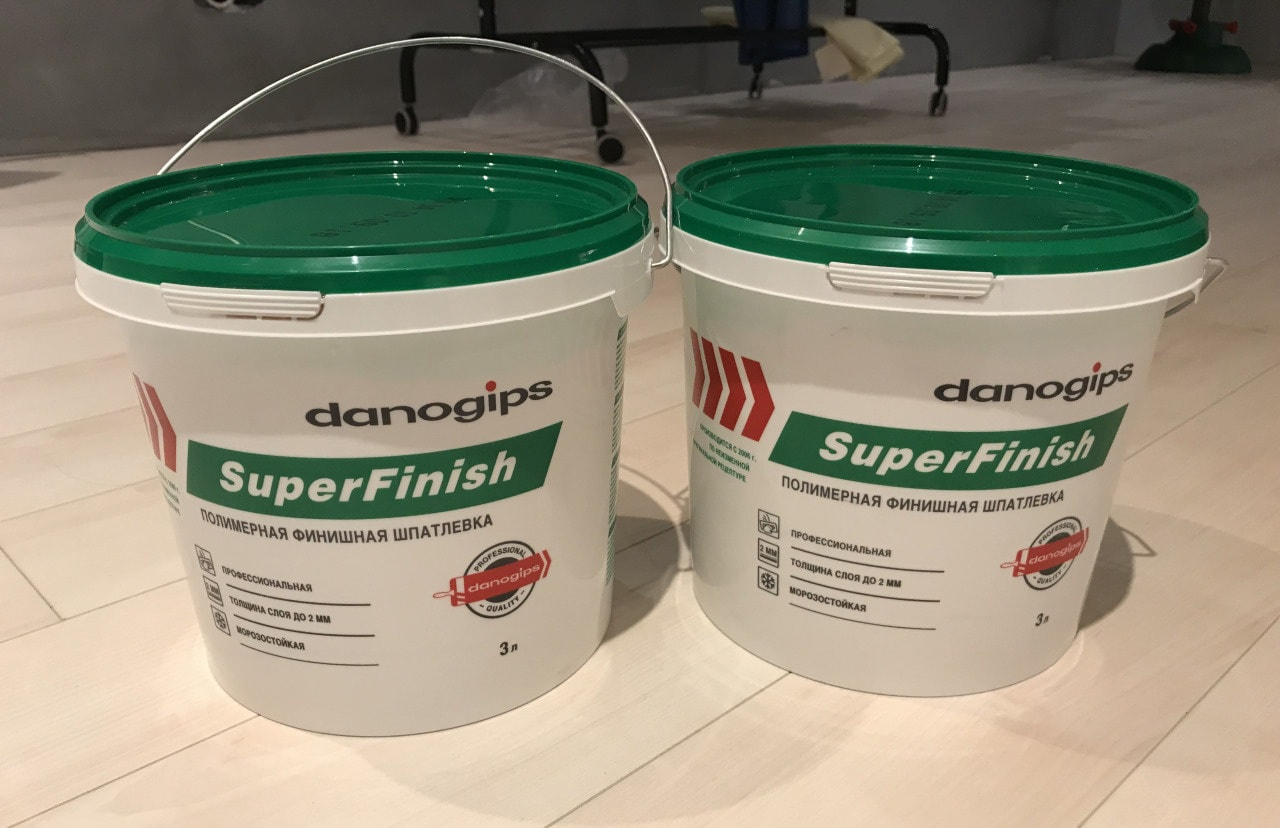 Шпаклевка Danogips SuperFinish