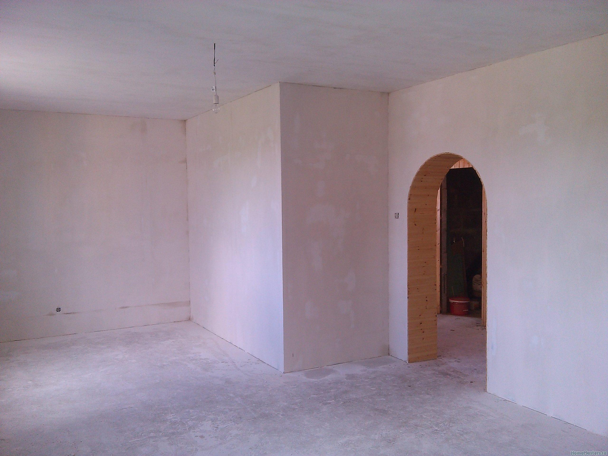 Шпаклевка на стенах