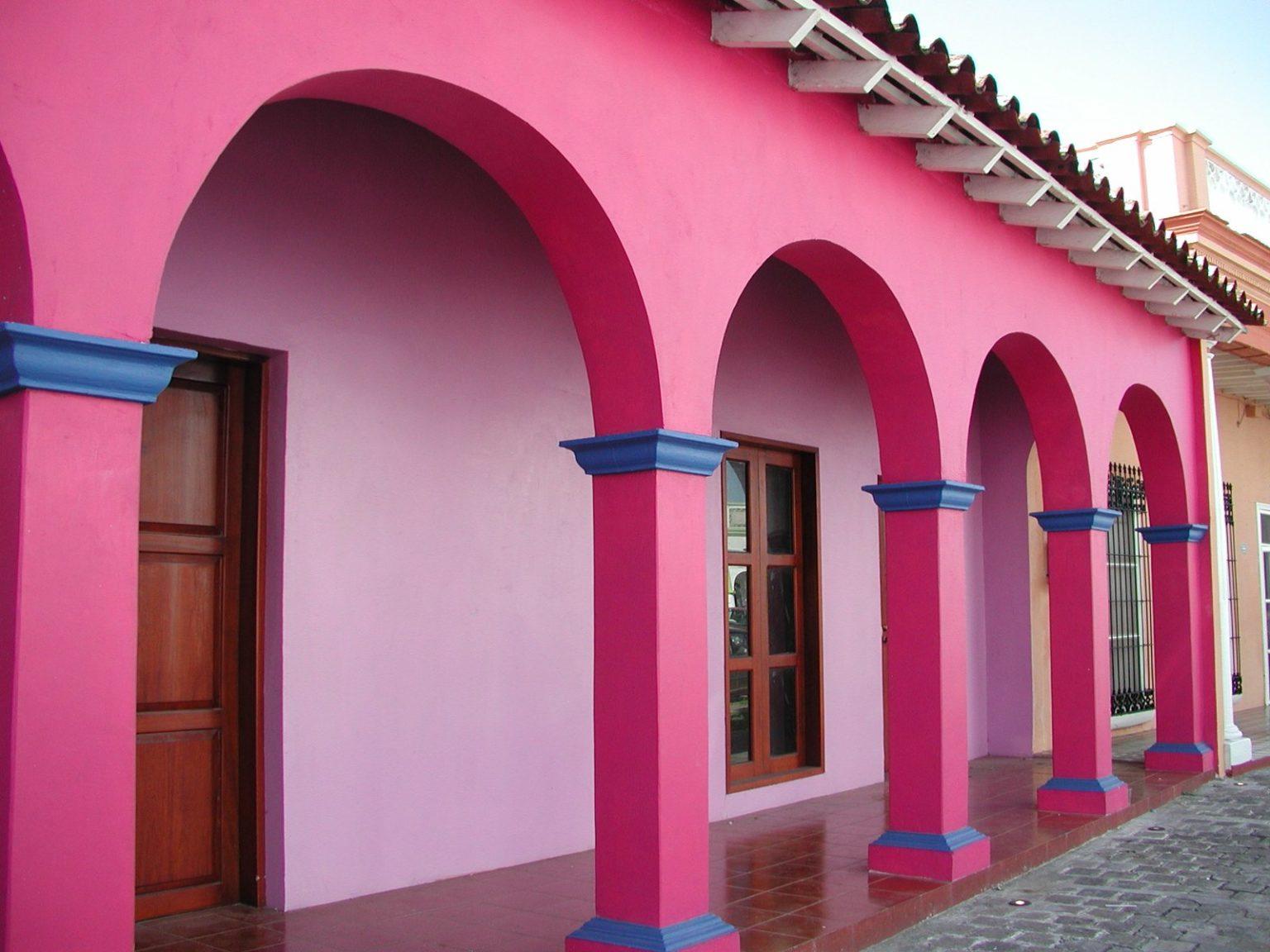 Силиконовая краска на фасаде
