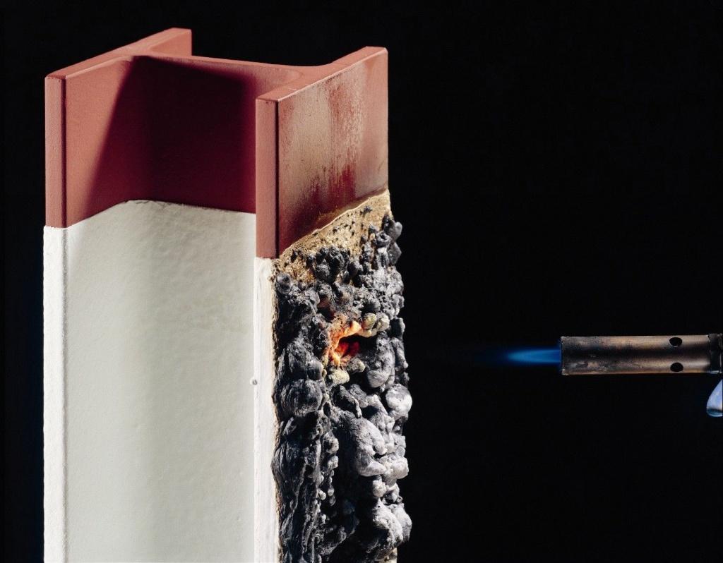 Воздействие огня на металл
