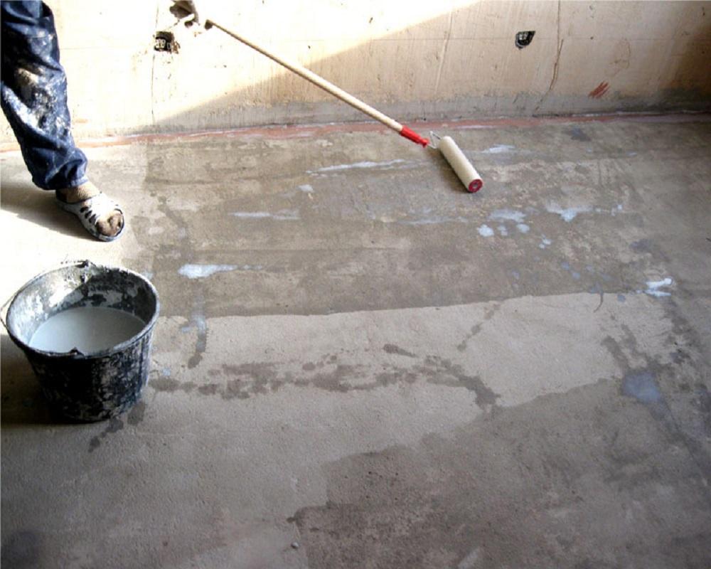 Фото грунтовки бетона