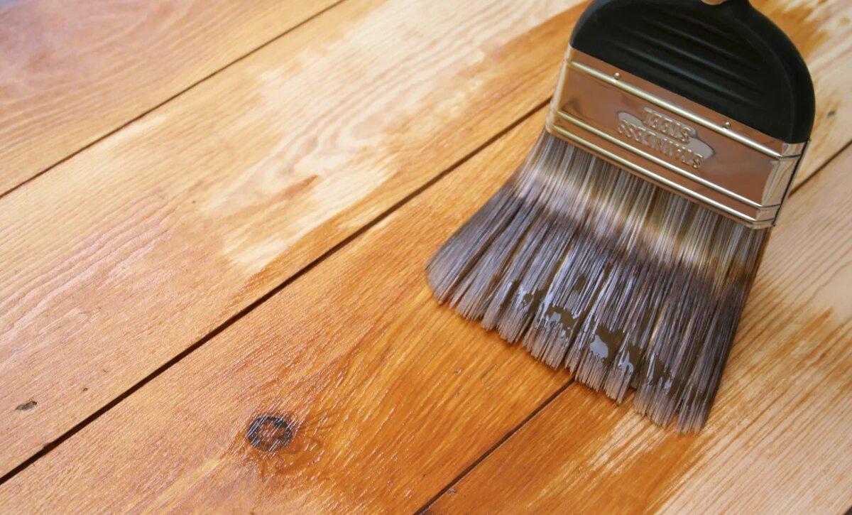 Грунтовка деревянной поверхности