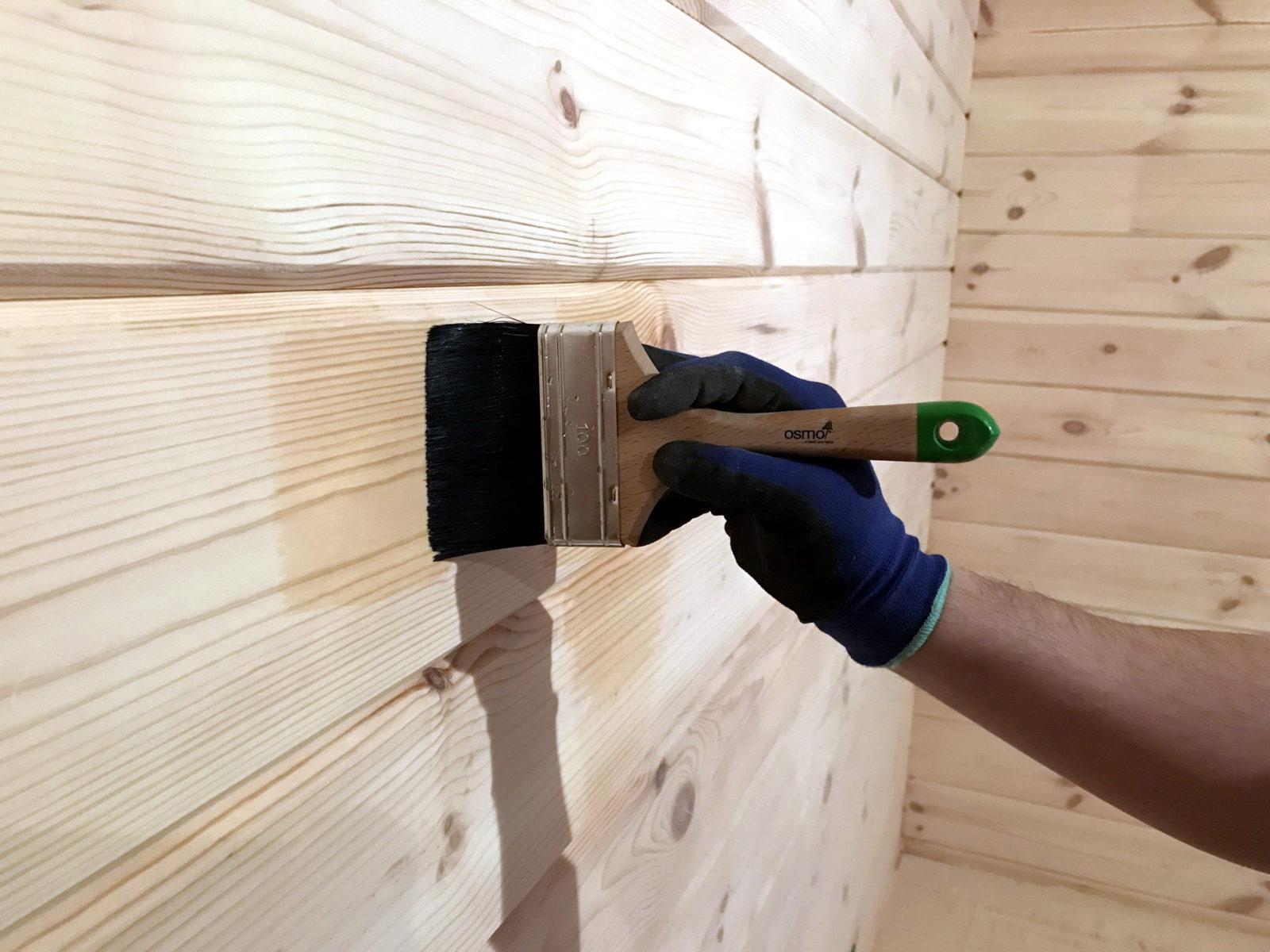 Грунтовка деревянных стен