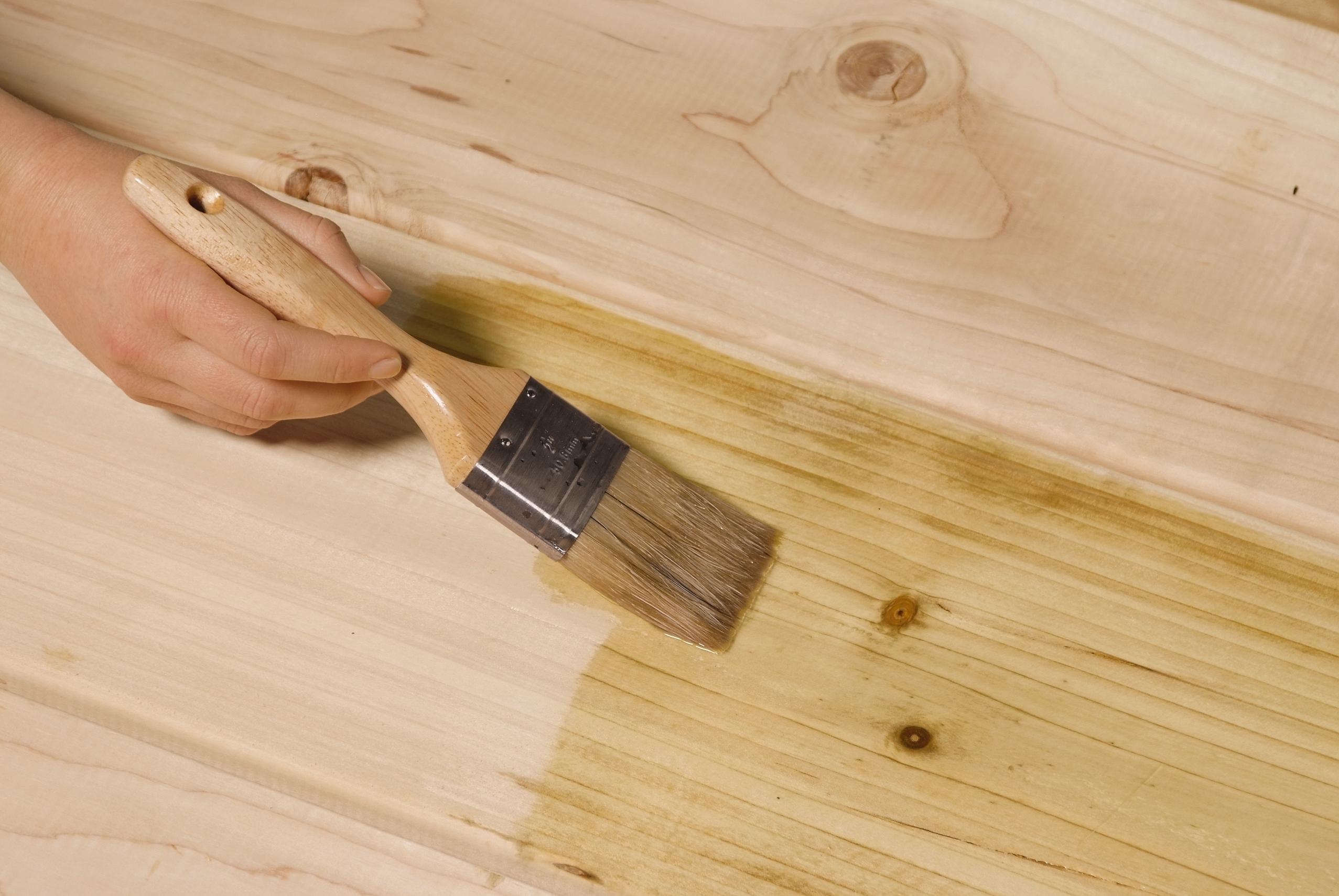 Грунтовка древесины