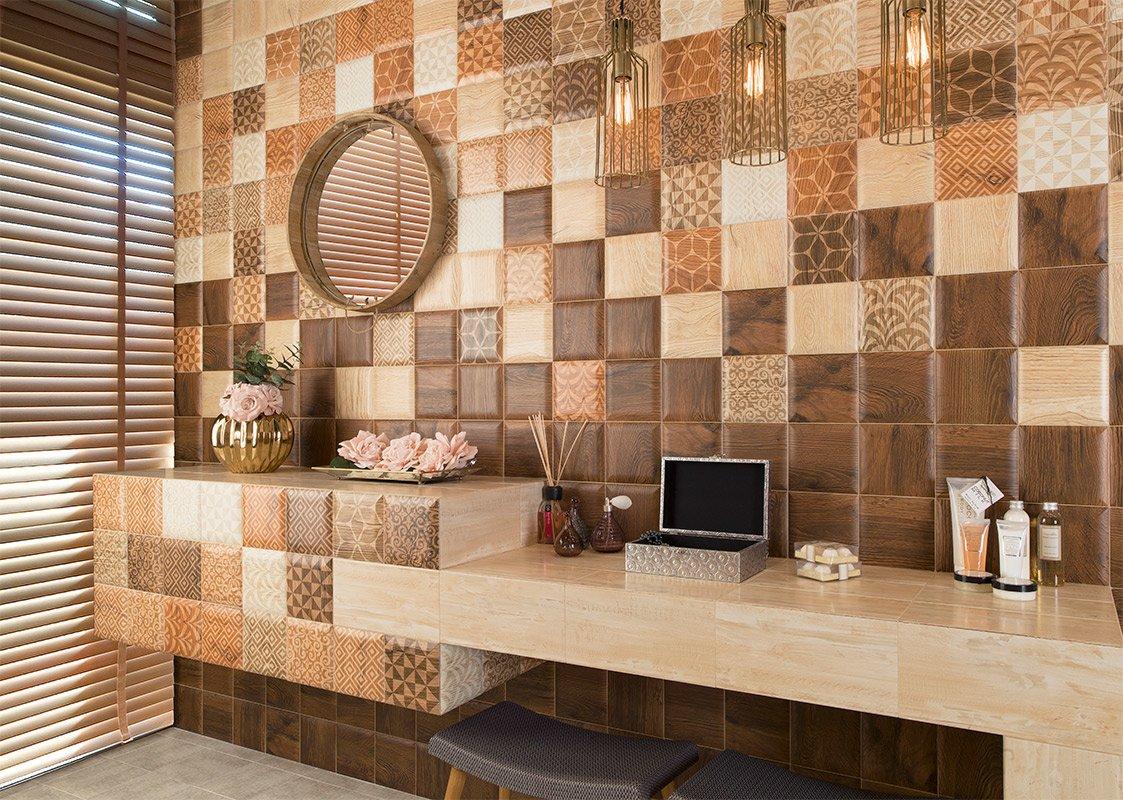 Фото кафеля на стенах