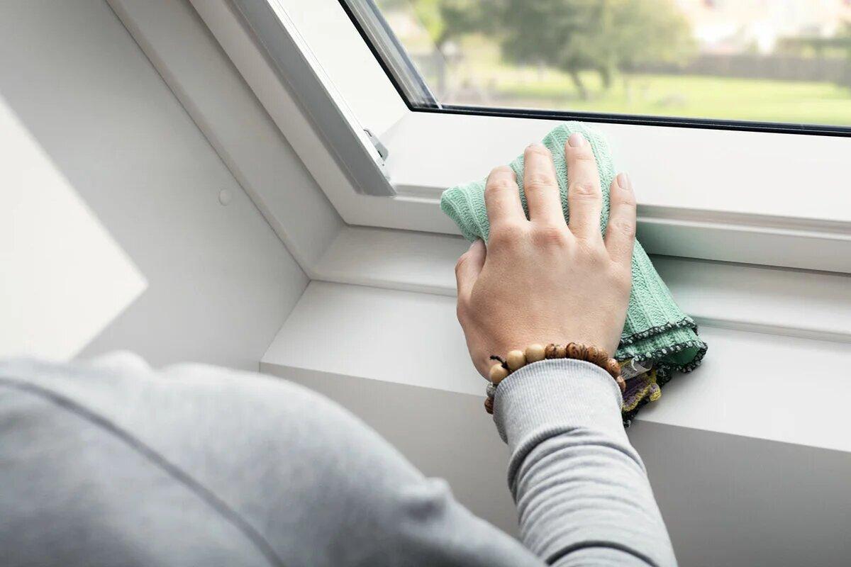 Очищение окна