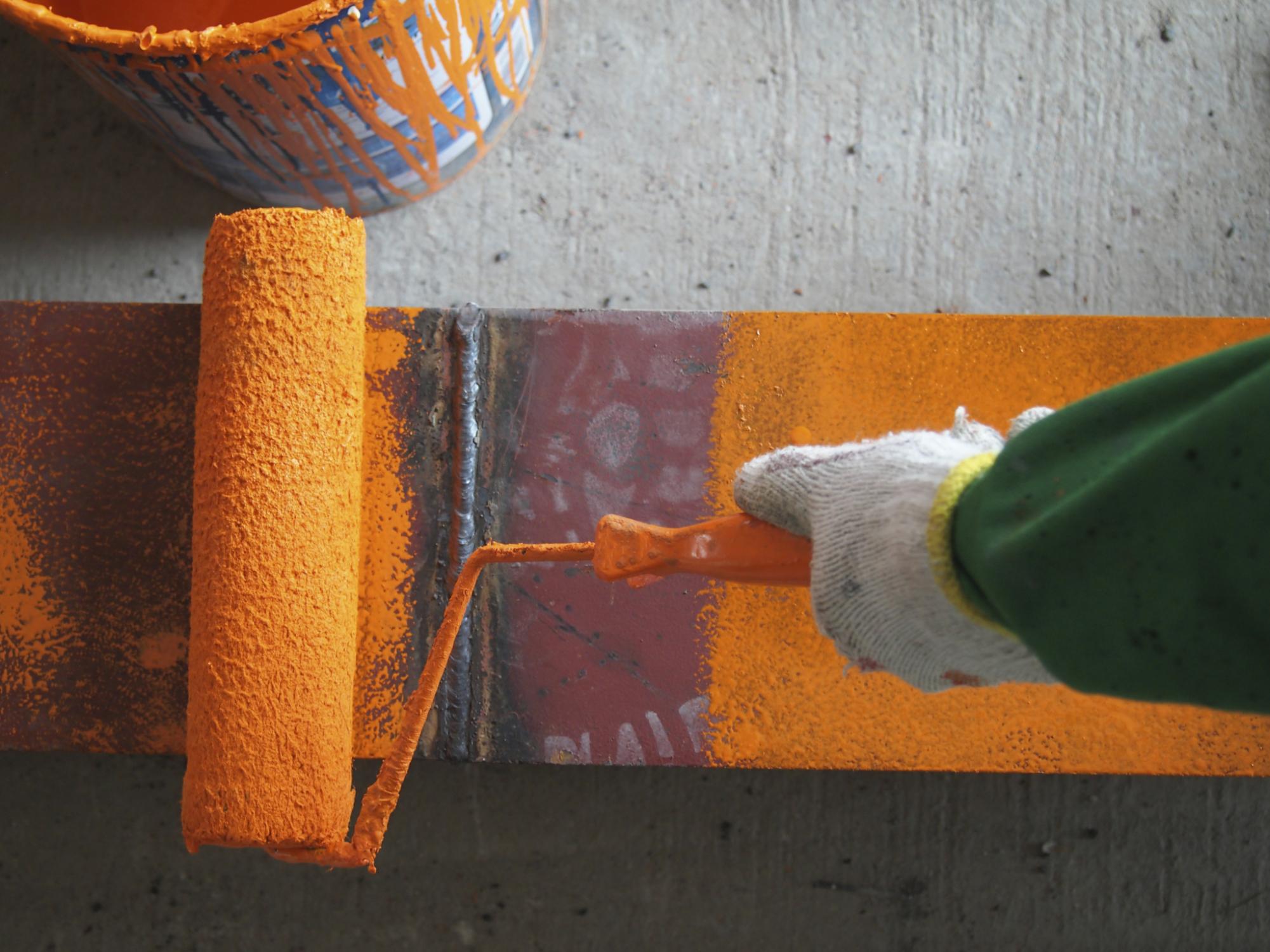 Покраска ржавчины