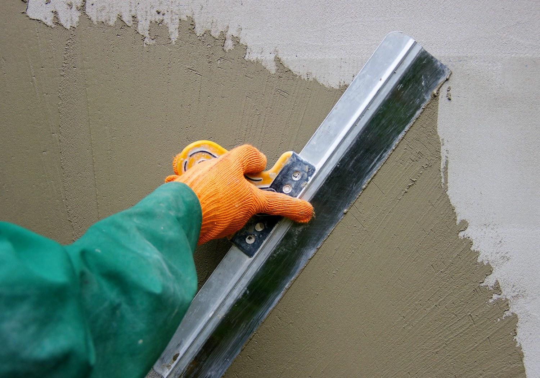 Штукатурка поверхности стен