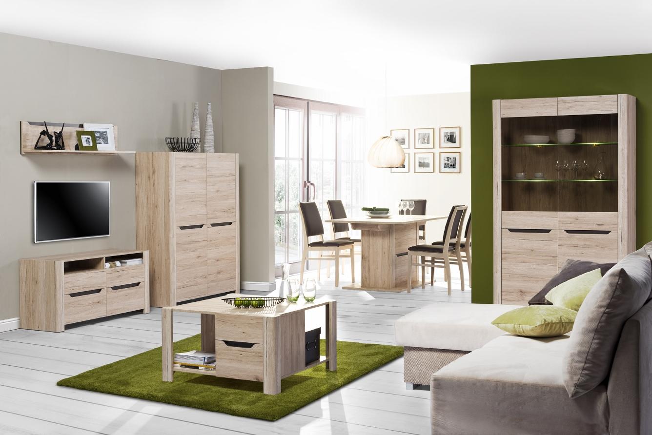 Дубовая мебель в интерьере