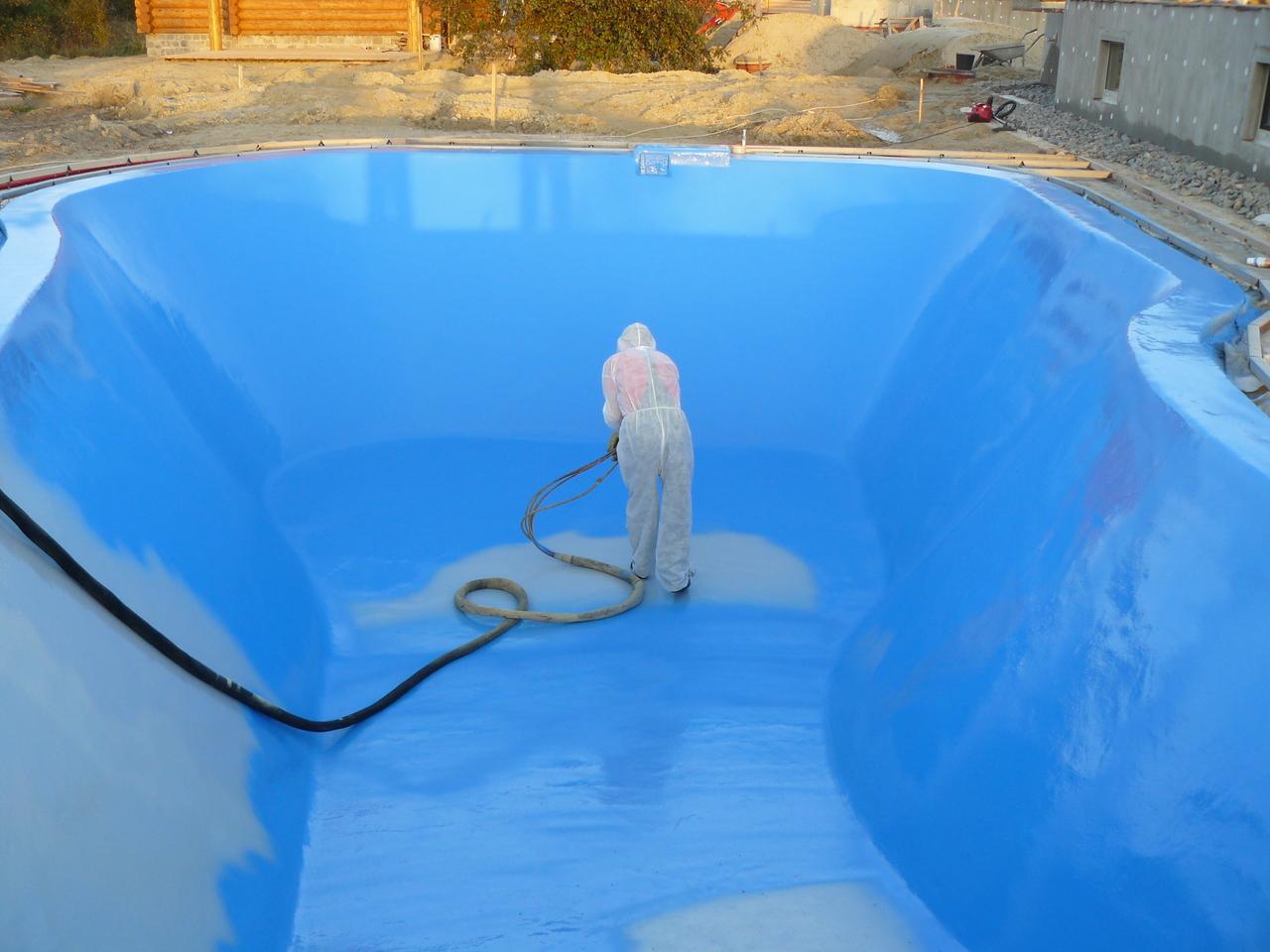 Гидроизоляция бассейна внутри