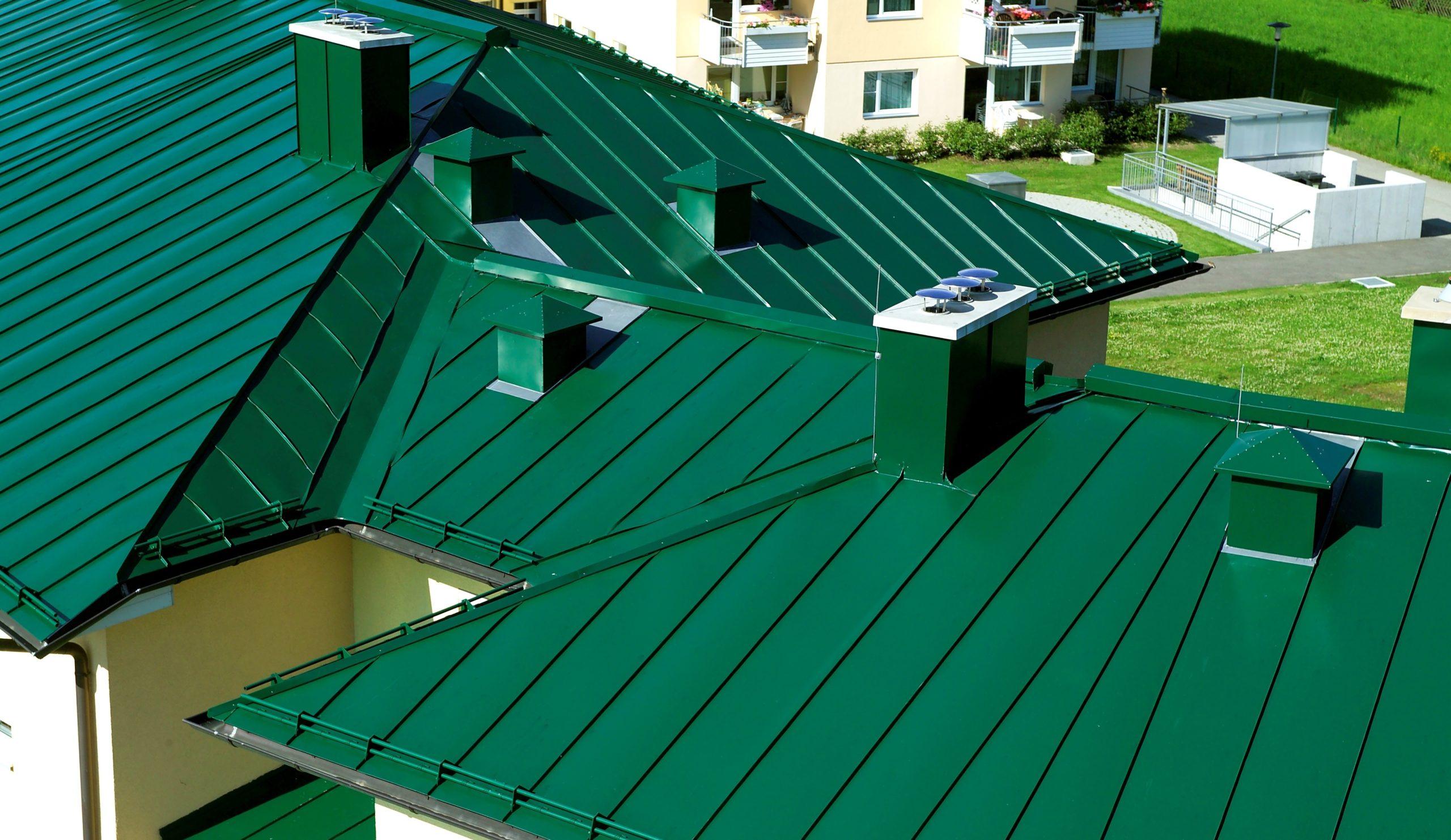 Фото крашенной крыши