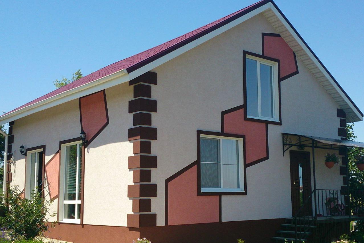 дома покрашенные короедом фото погоне