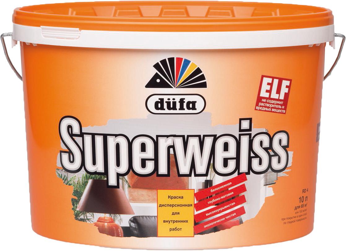Краска Dufa, Superweiss