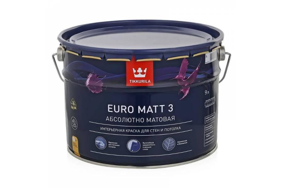 Краска Euro 3 Matt