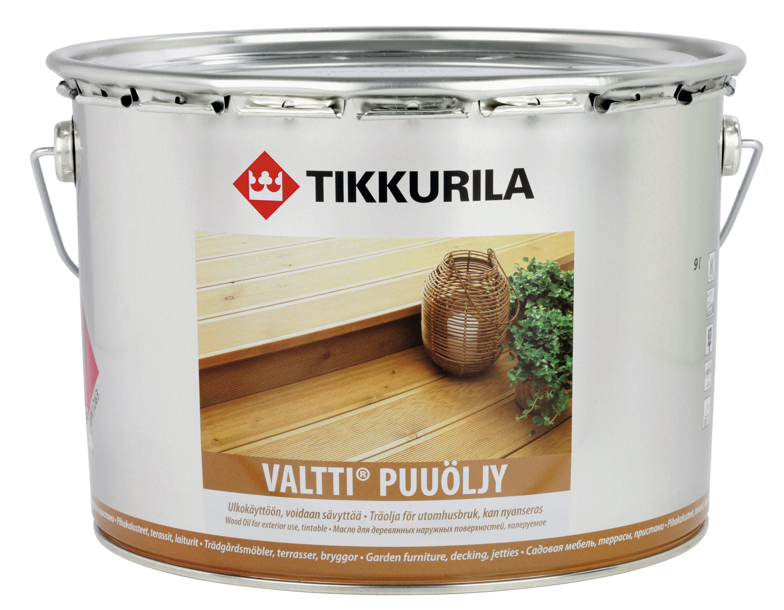Масло для дерева Tikkurila