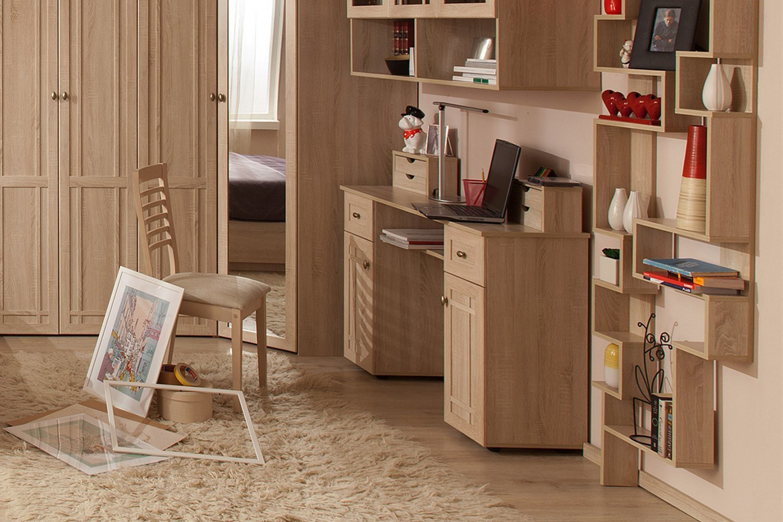 Мебель в цвете дуб сонома
