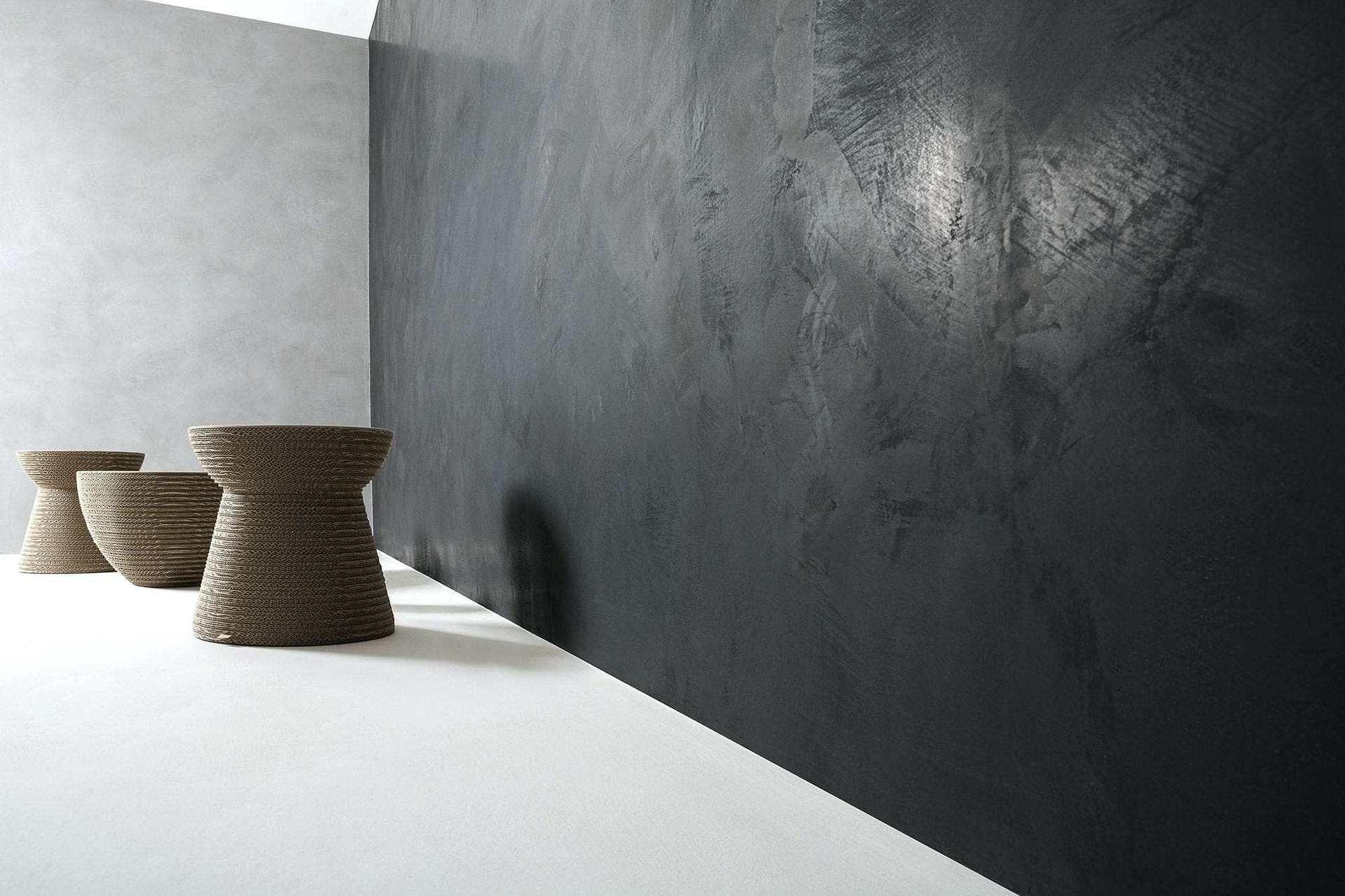 Покраска стен под бетон
