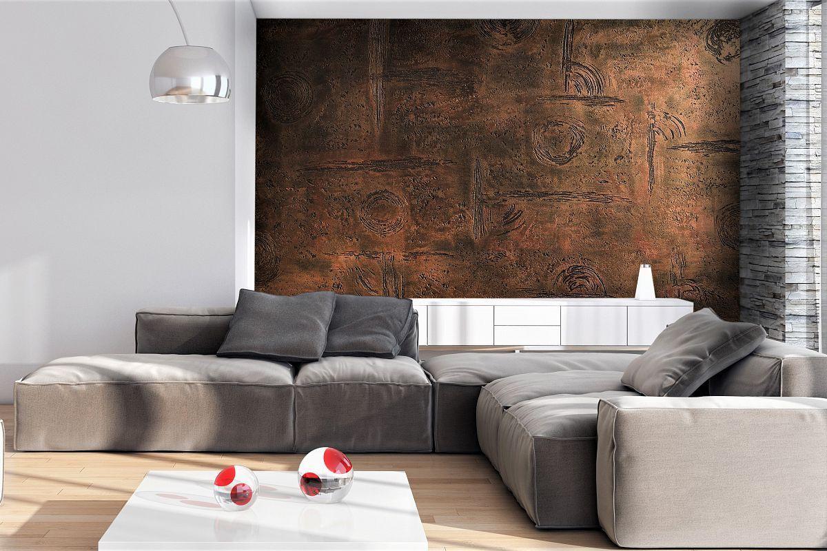 Покраска стен под дерево
