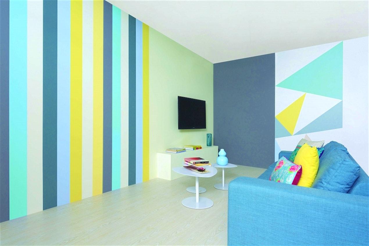 подарит вам креативная покраска стен фото что