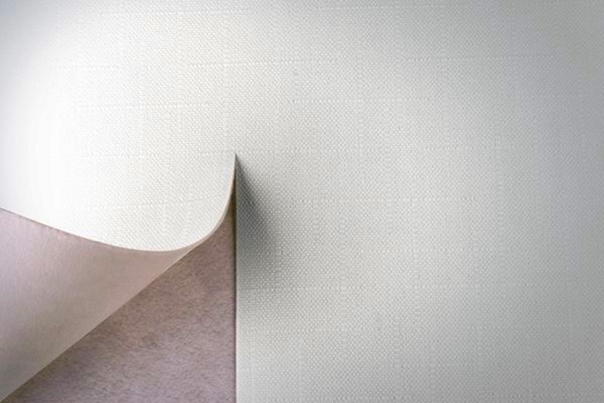 Малярный флизелин на стене