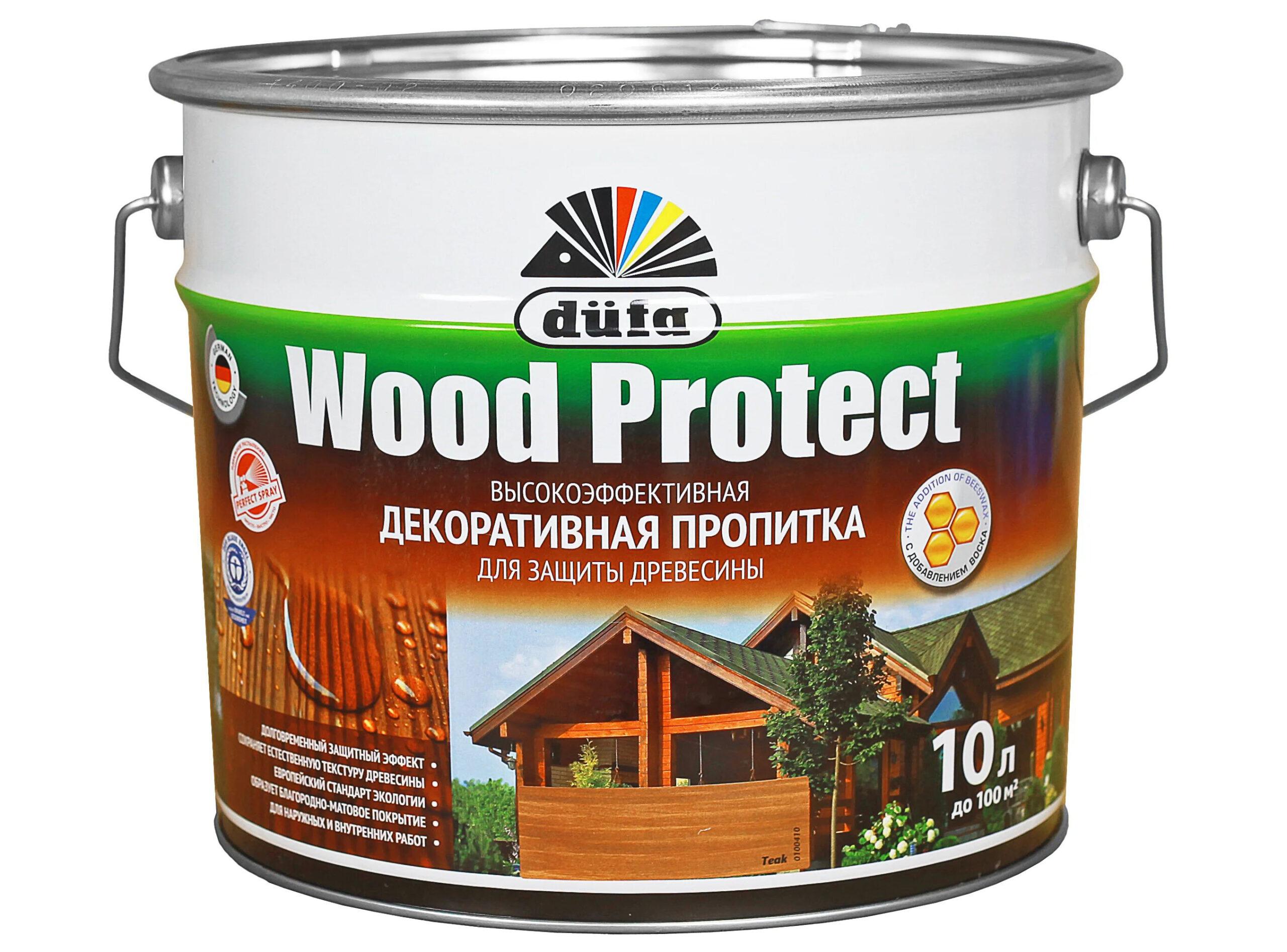 Фото пропитки Wood Protect