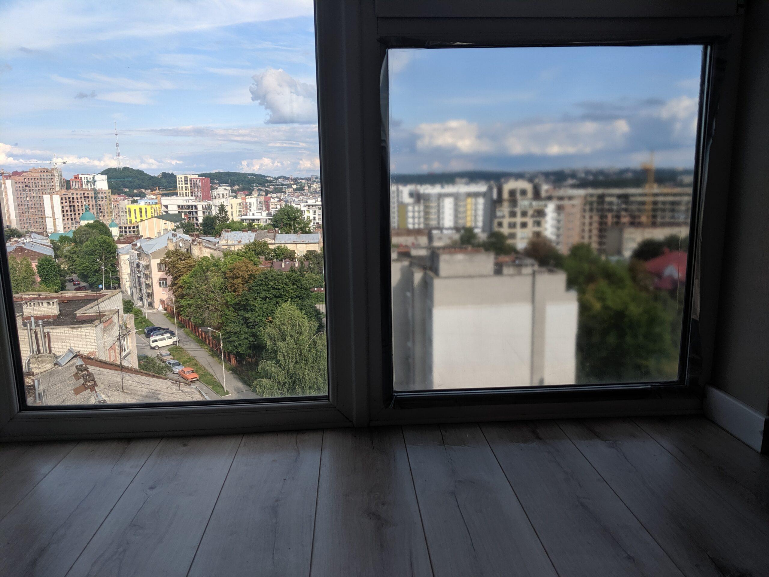 Солнцезащитная пленка на окнах