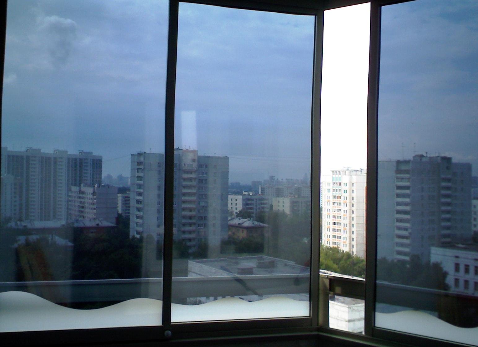 Тонировочная пленка на окнах