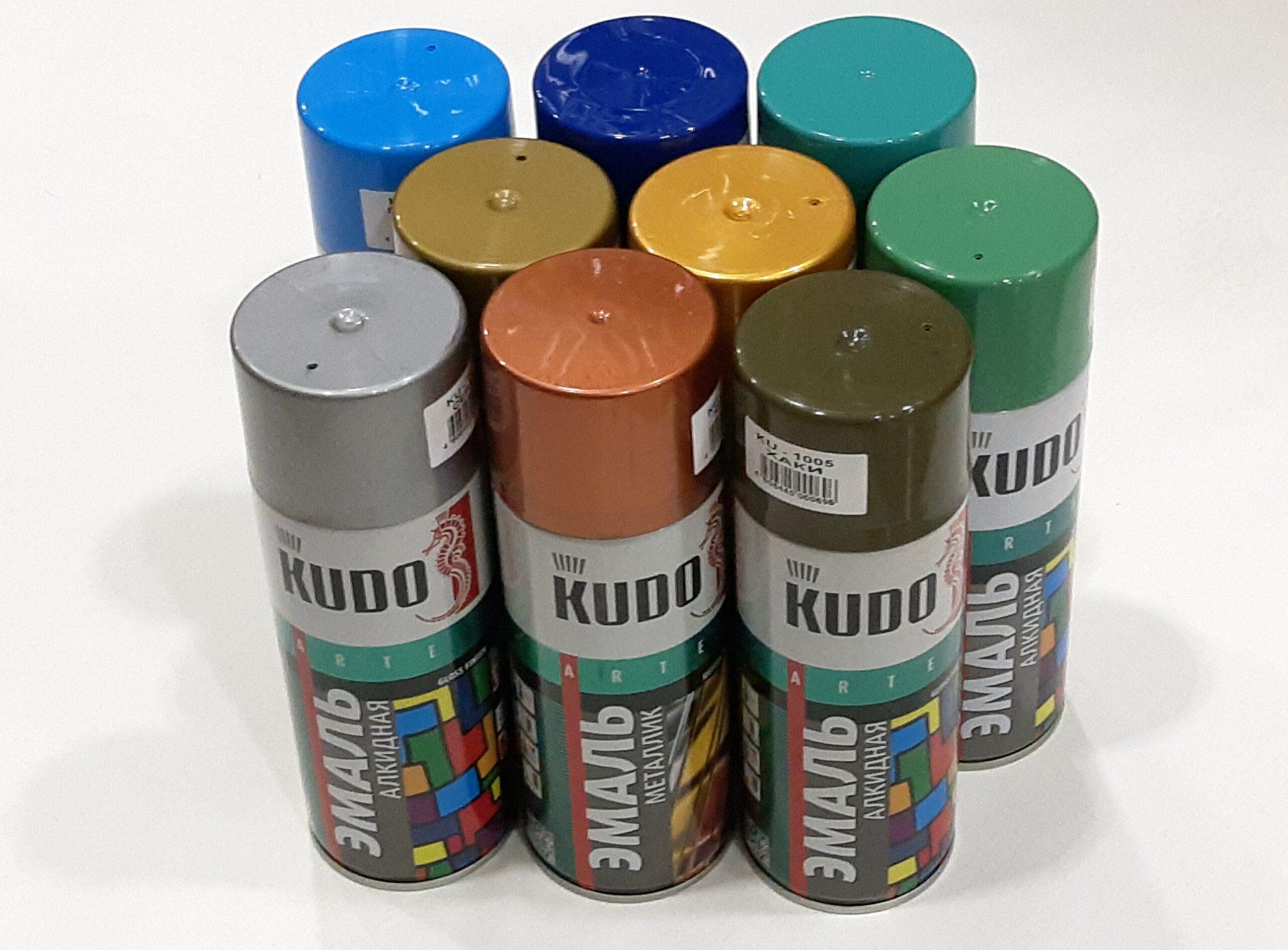 Краски KUDO
