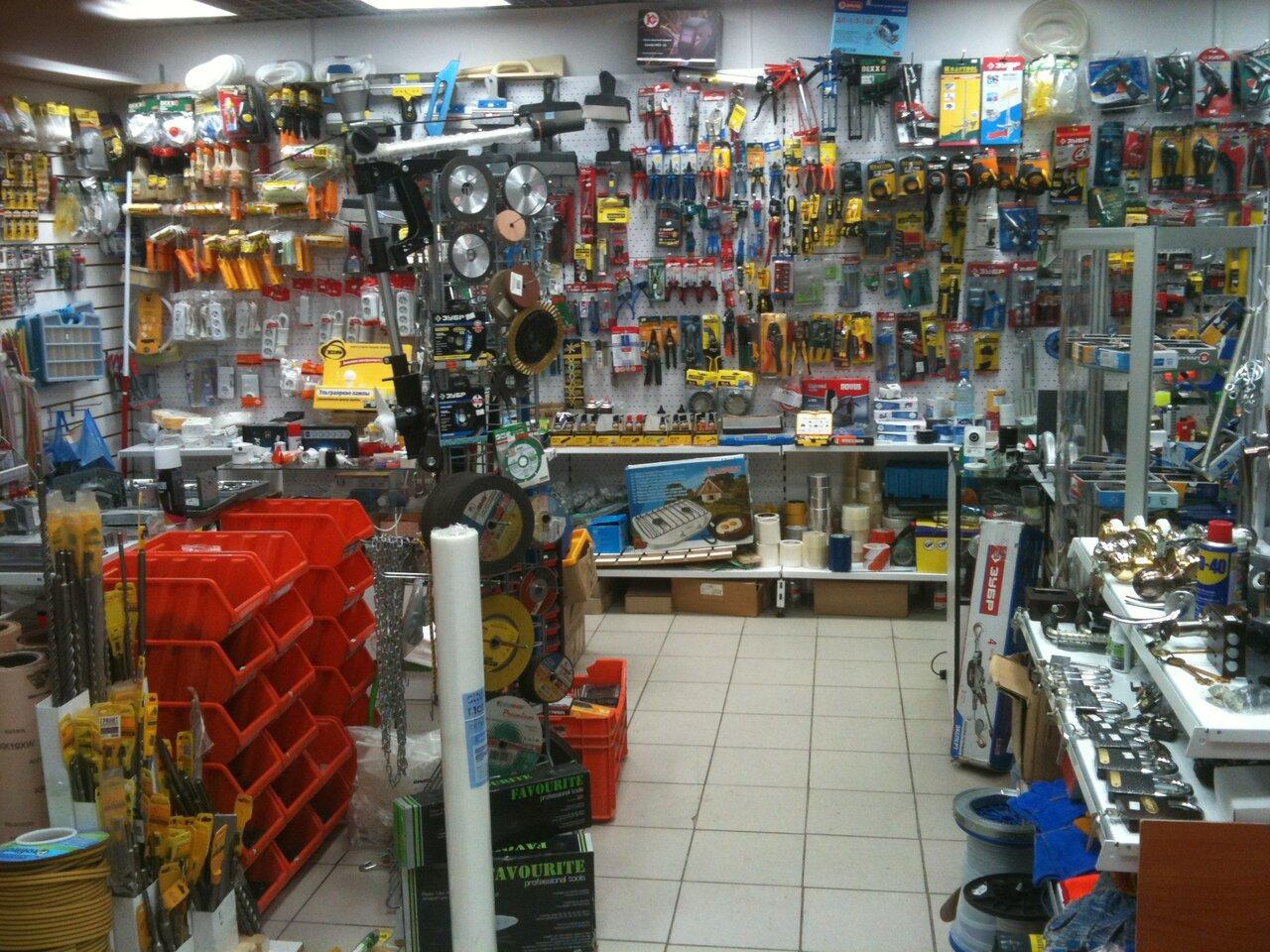 Магазин строительных инструментов