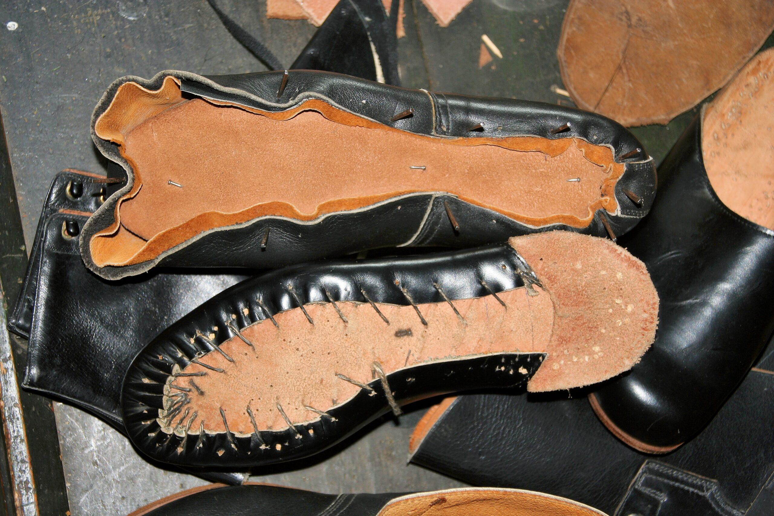 Поклейка обуви