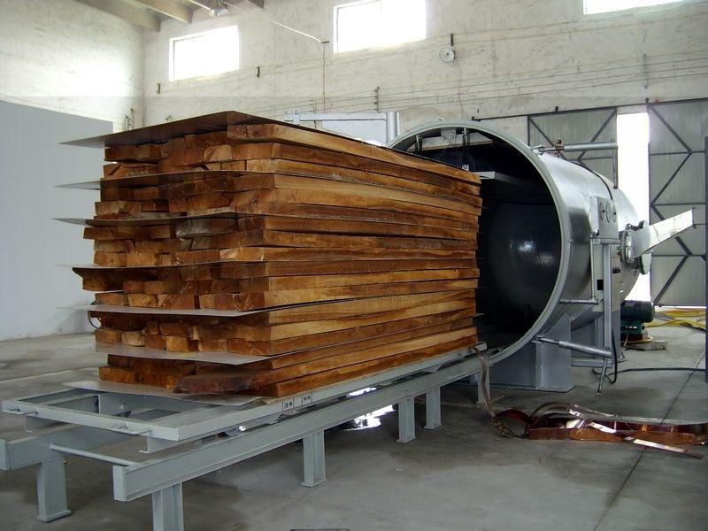 Принудительная сушка древесины