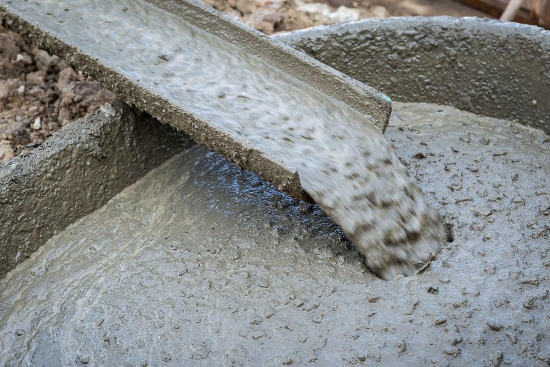 Фото бетона с жидким стеклом