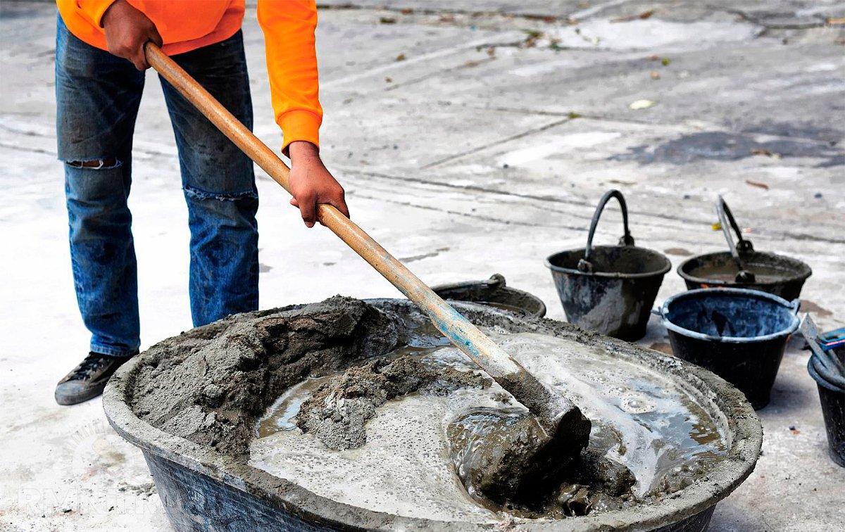 Фото бетонного раствора