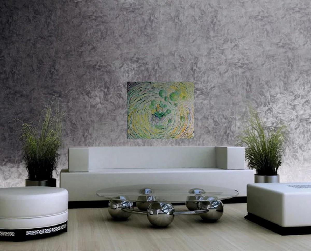 Декоративная штукатурка на стенах