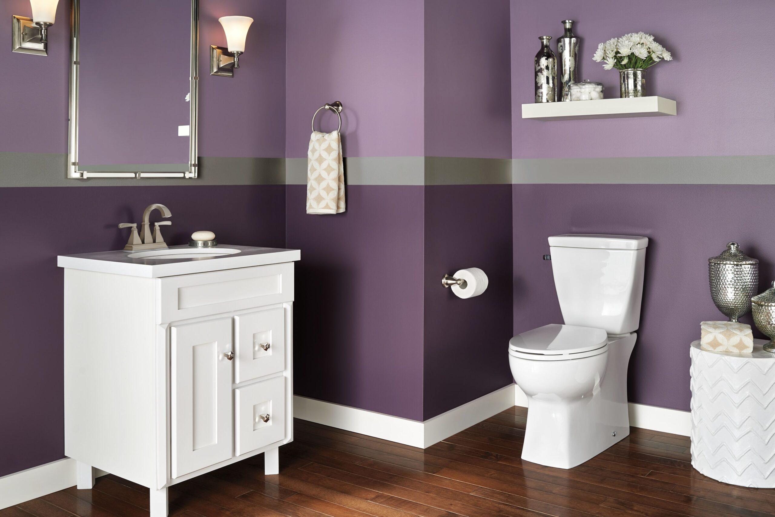 Латексная краска в ванной