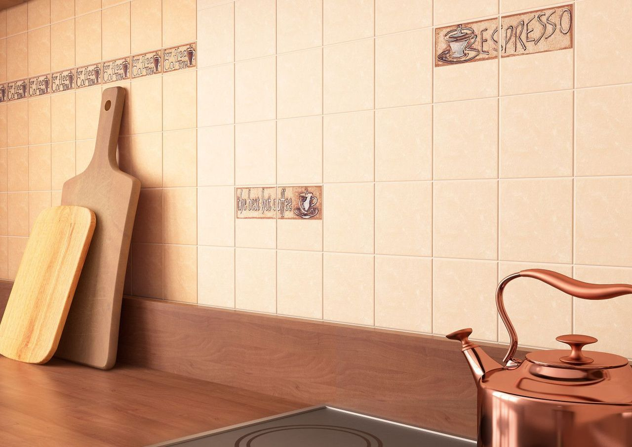 Фото плитки на стене