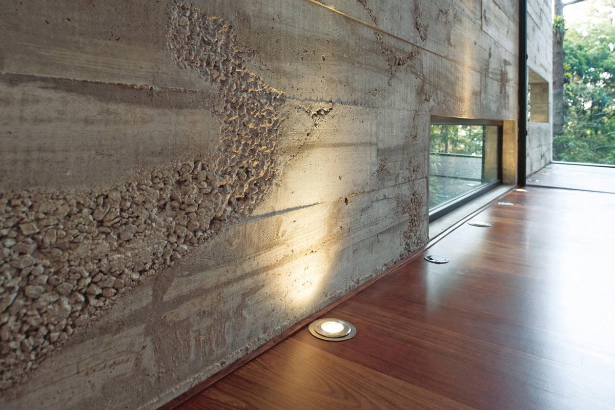 Рельефная штукатурка под бетон