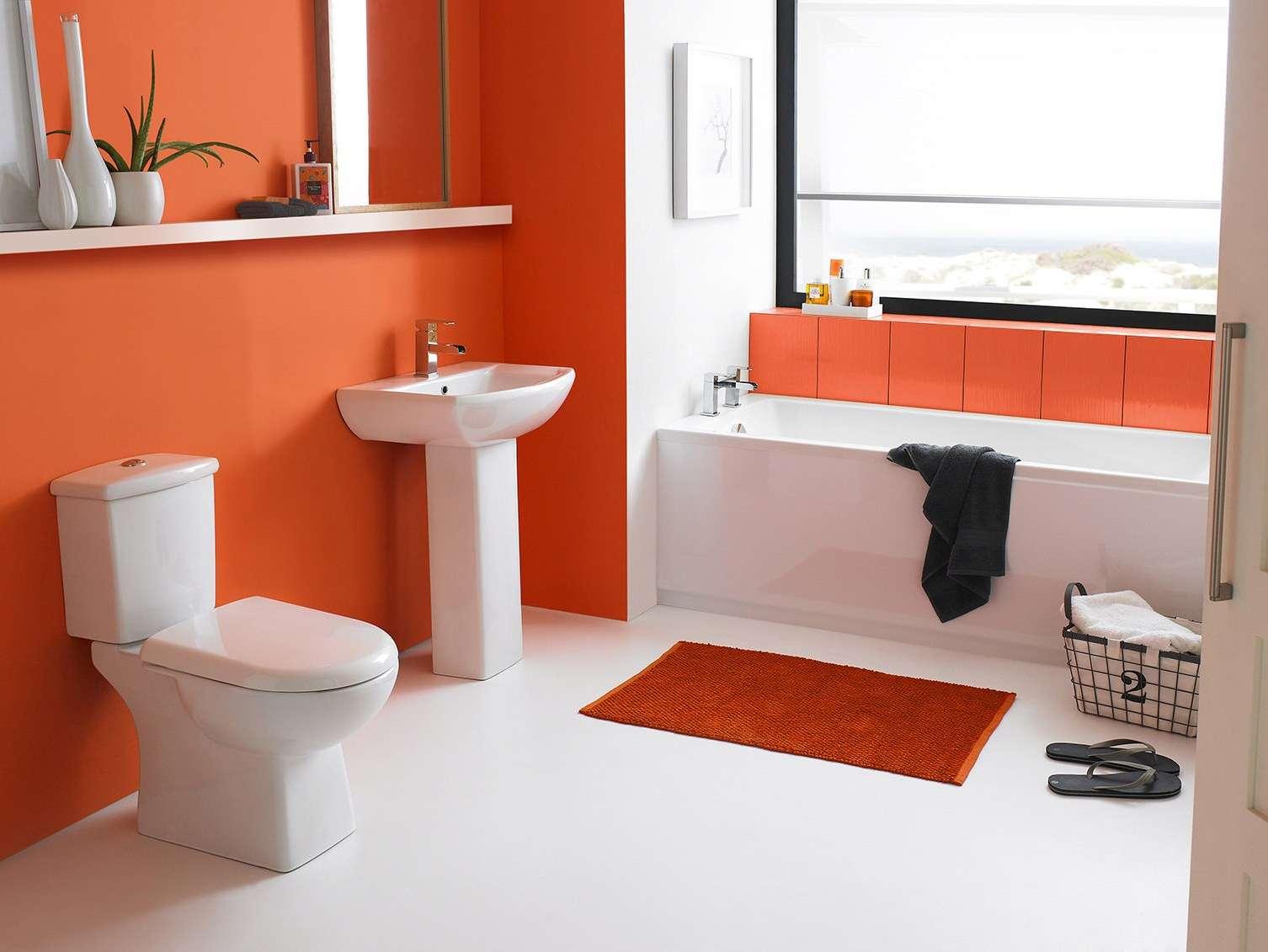 Силикатная краска в ванной